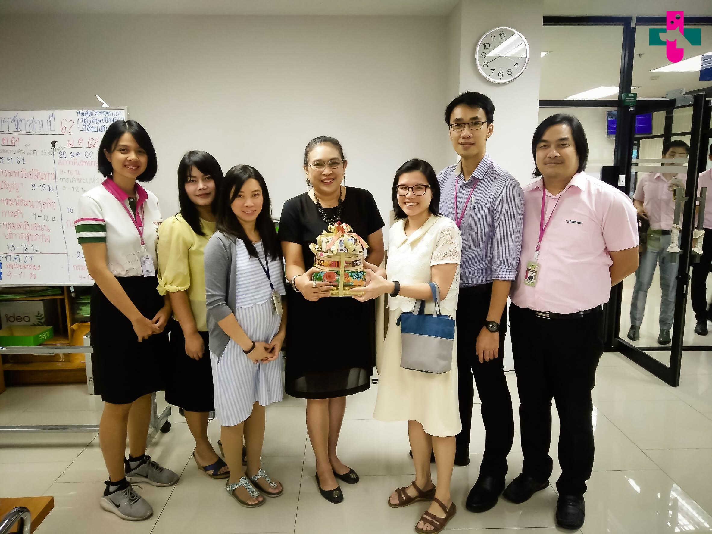 คณะกรรมการดำเนินงานโครงการฯเข้าพบเพื่อหารือเรื่องการเรียนการสอน และสวัสดีปีใหม่ พ.ศ. 2562 หน่วยงานต่างๆ