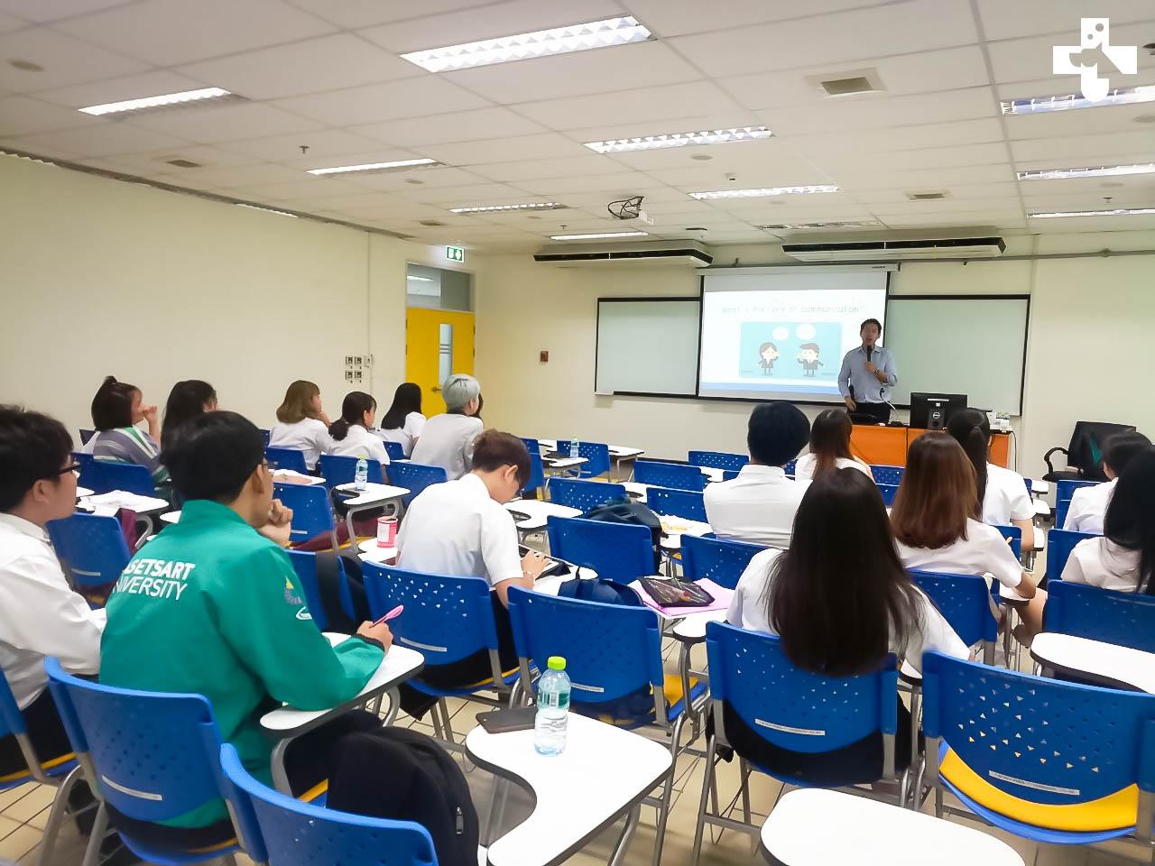 โครงการอบรมทักษะการใช้ภาษาอังกฤษนิสิตสาขาวิชาการพยาบาลสัตว์ ประจำปีการศึกษา 2562
